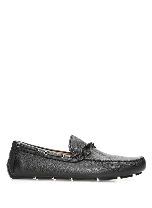 Beymen Club %100 Deri Loafer Ayakkabı Siyah